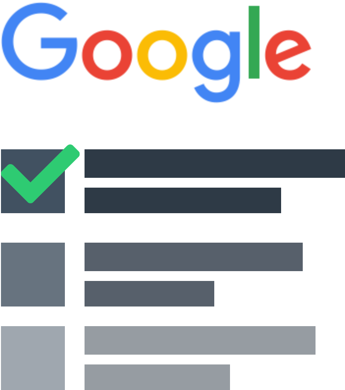 Google front page