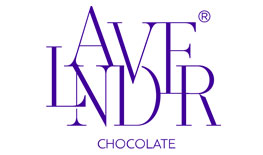 Lavender Chocolate logo flowers design and chocolate gifts Canada